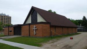 Работы по благоустройству храма май 2017